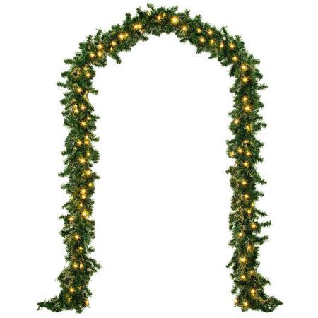 Outdoor Weihnachtsgirlande 5m - 100x LED - In/Outdoor
