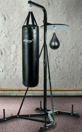 Boxsackständer für Punchingball und Boxsack höhenverstellbar