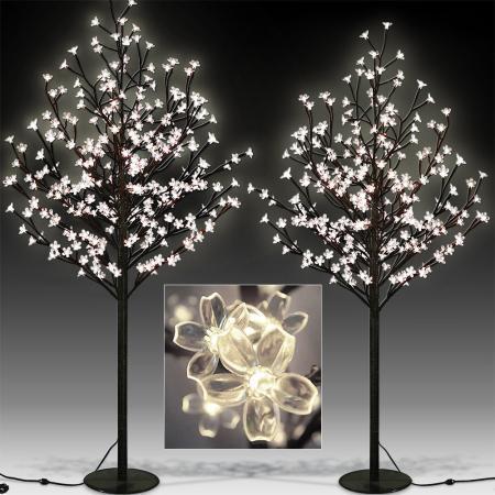 Kirschblütenbaum mit 220LEDs 220cm Länge für In/Outdoor