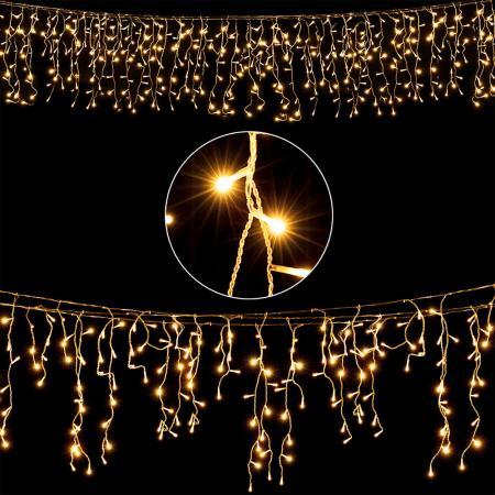 Regen Lichterkette mit 200 LEDs 10 Meter