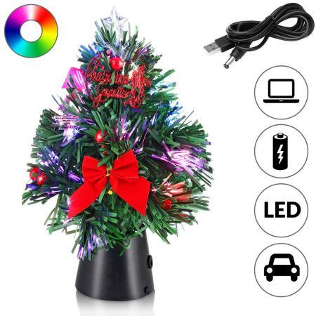Tannenbaum Mini Weihnachtsbaum 26cm ~ geschmückt