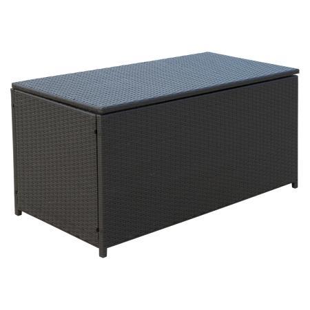 Polyrattan Kissenbox Auflagenbox 118x54x59cm