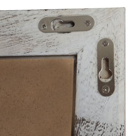 shabby chic bilderrahmen t250 fotorahmen holzrahmen 36x51cm weiss. Black Bedroom Furniture Sets. Home Design Ideas