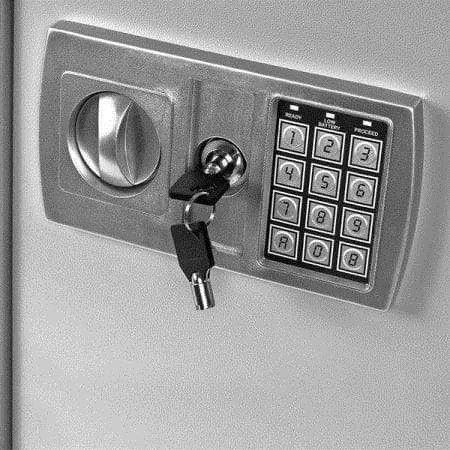 tresor safe mit sicherheitscode. Black Bedroom Furniture Sets. Home Design Ideas