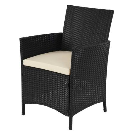 poly rattan garten garnitur halden sitzgruppe anthrazit. Black Bedroom Furniture Sets. Home Design Ideas