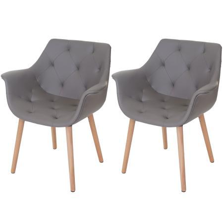 2x esszimmerstuhl malm retro 50er jahre design kunstleder. Black Bedroom Furniture Sets. Home Design Ideas