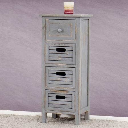 shabby chic kommode vintage grau. Black Bedroom Furniture Sets. Home Design Ideas