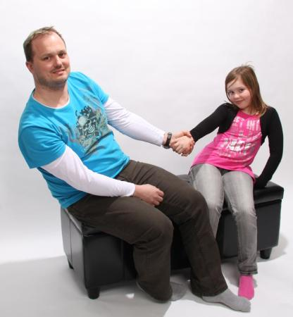 bank sitzbank mit aufbewahrung kriens leder 112x45x45cm. Black Bedroom Furniture Sets. Home Design Ideas