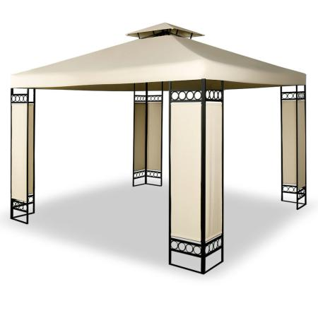 pergola elda garten pavillon 3x4 xxl anthrazit. Black Bedroom Furniture Sets. Home Design Ideas