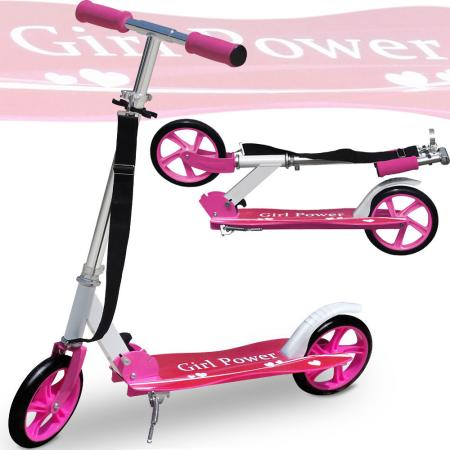 "Kickboard Scooter ""GIRL POWER"""
