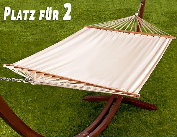 h ngematte mit gestell und dach 405cm. Black Bedroom Furniture Sets. Home Design Ideas