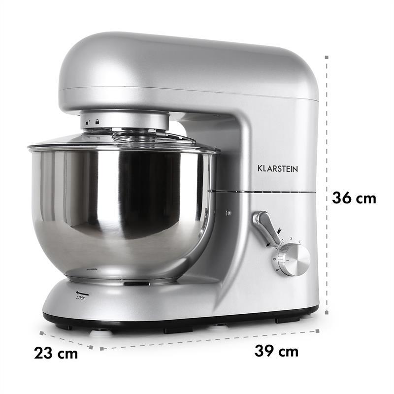 Klarstein Küchenmaschine 1200 Watt 2021