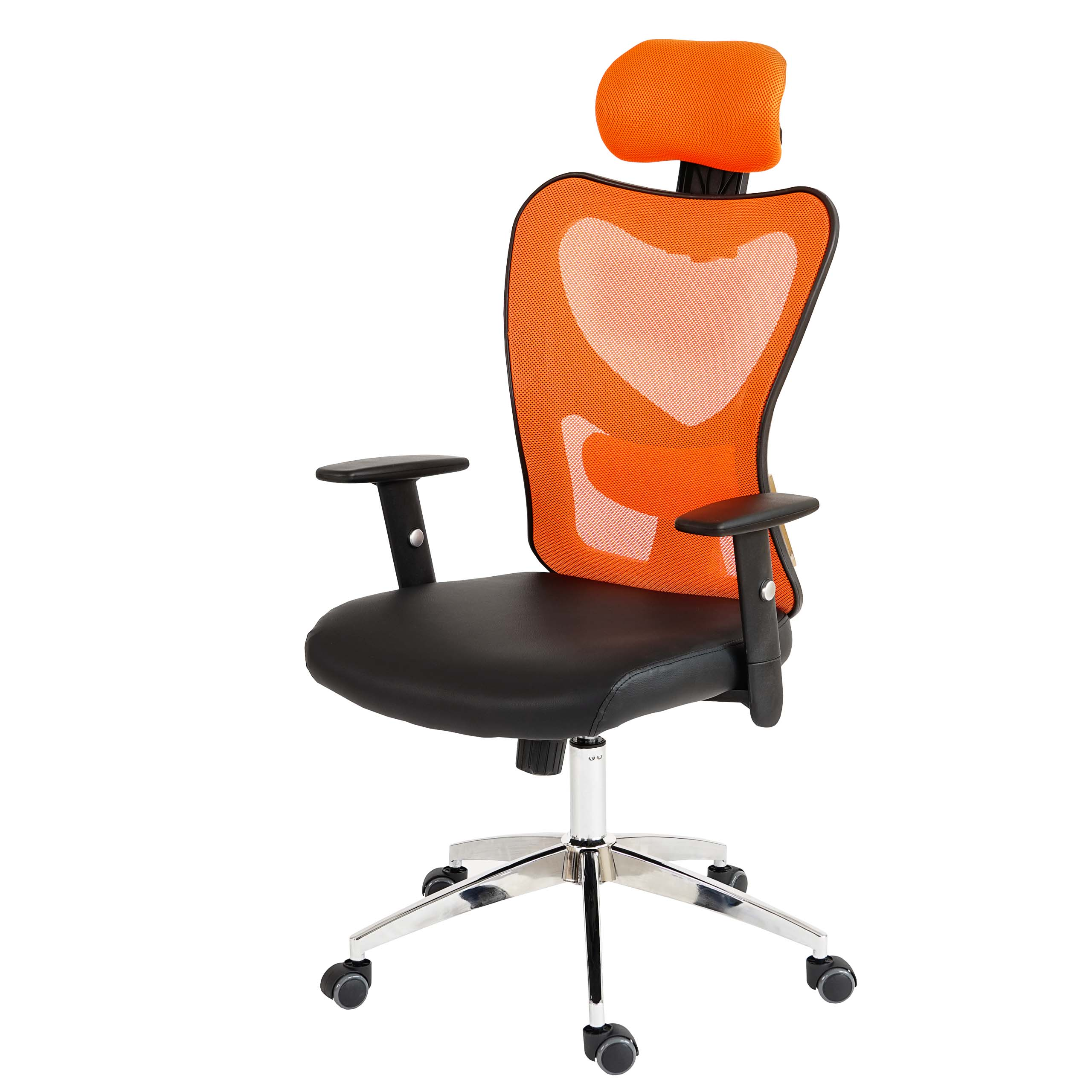 profi b rostuhl atlanta xxl 150kg orange. Black Bedroom Furniture Sets. Home Design Ideas
