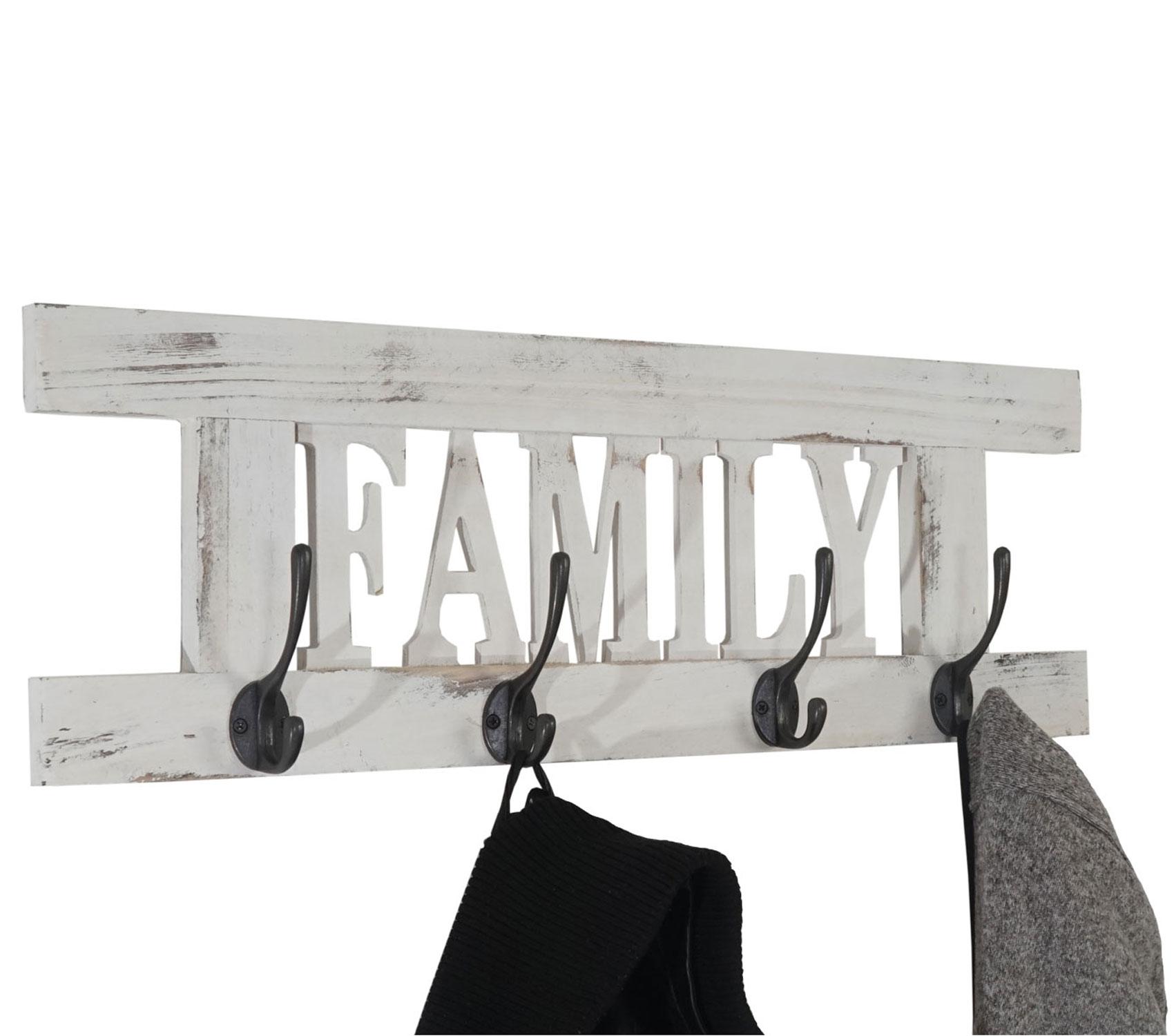 wandgarderobe garderobe family vintage weiss shabby. Black Bedroom Furniture Sets. Home Design Ideas
