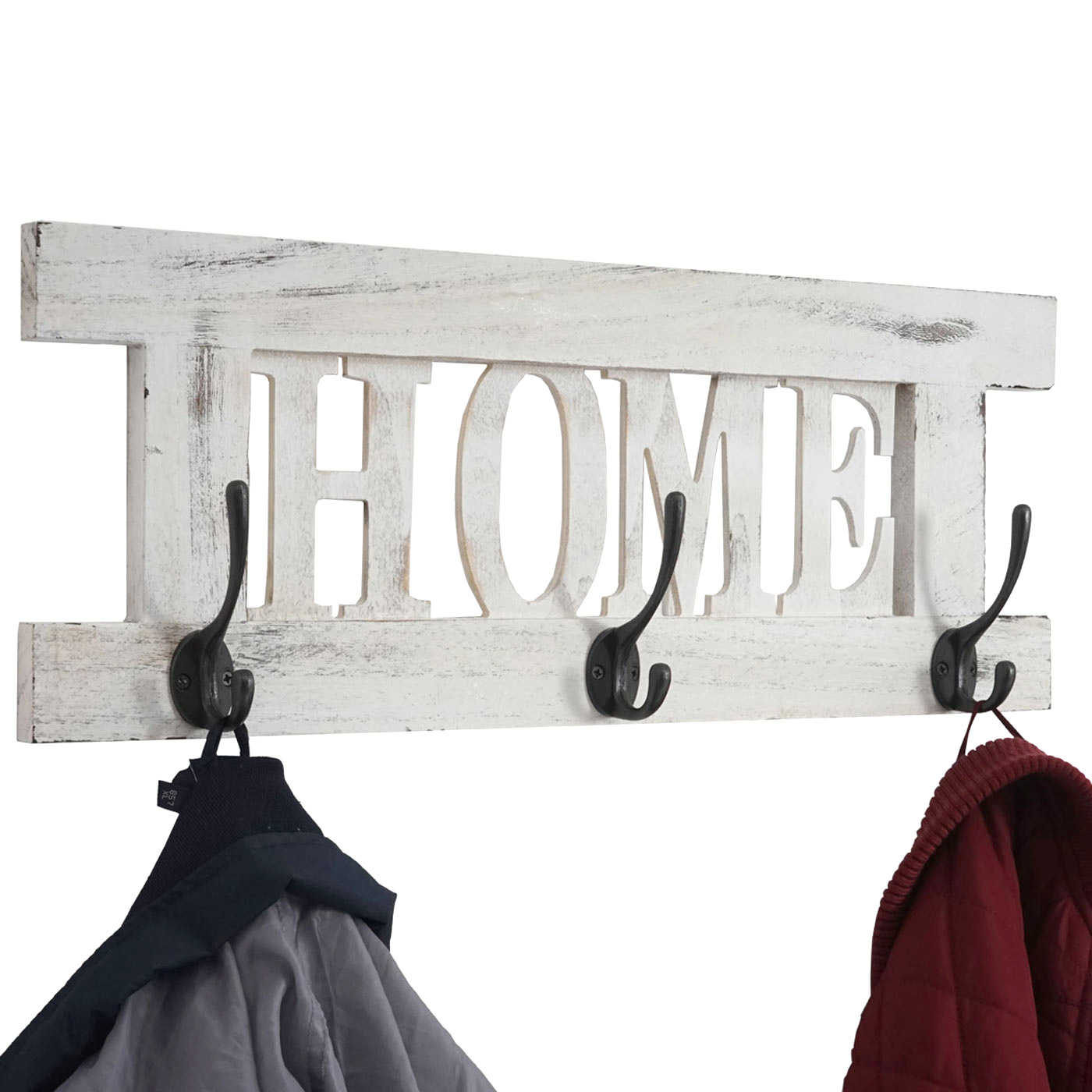 wandgarderobe garderobe home vintage wei shabby. Black Bedroom Furniture Sets. Home Design Ideas