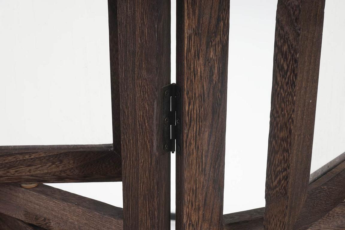 paravent fotogalerie ii mit fotorahmen 161x125x2cm braun. Black Bedroom Furniture Sets. Home Design Ideas