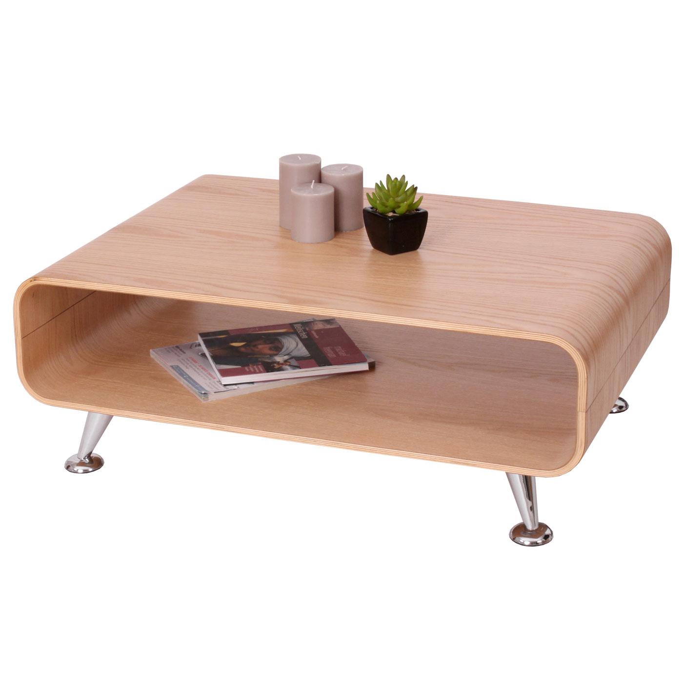 Couchtisch Loungetisch Hwc Xxl 33x90x60cm Eiche Natur Jambch