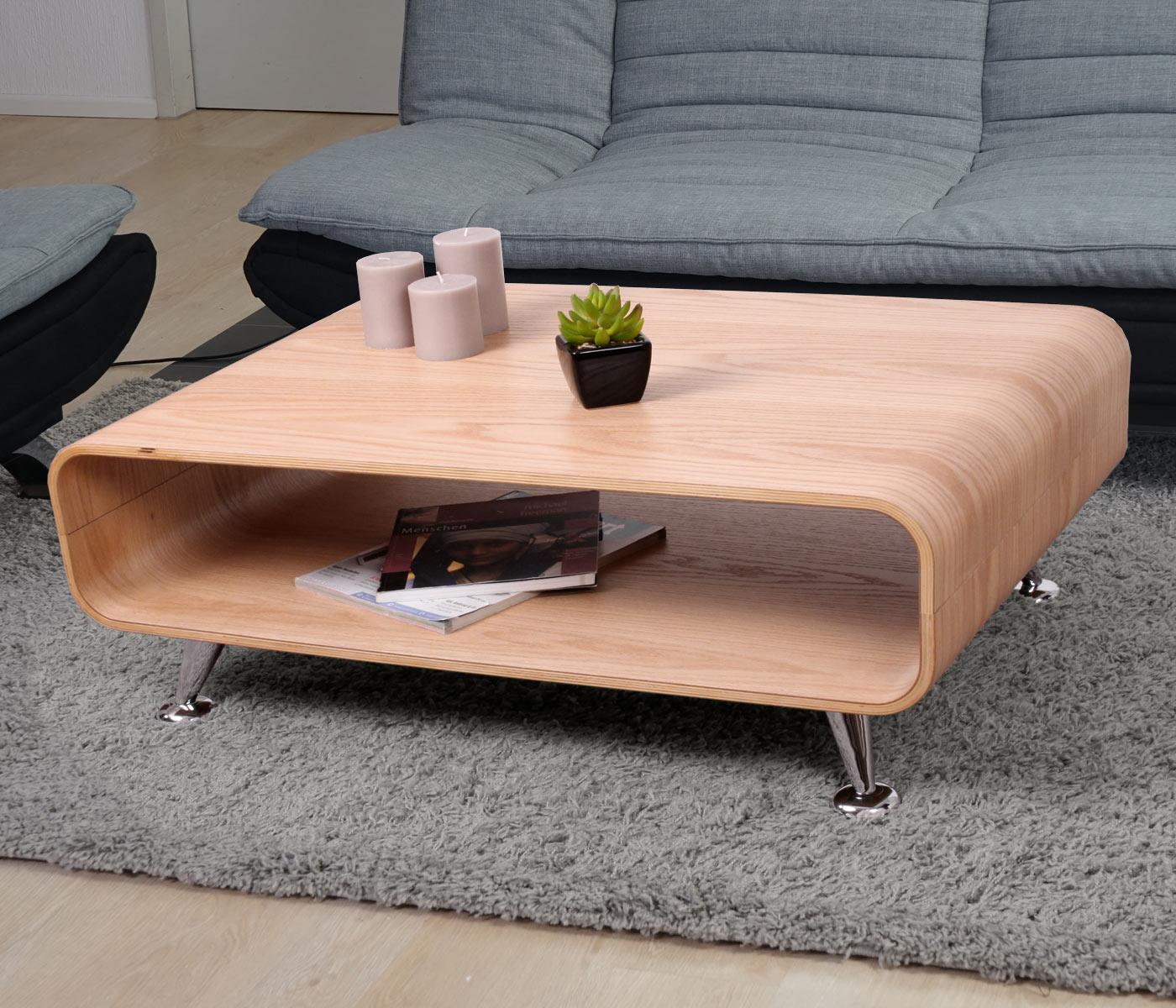 couchtisch loungetisch hwc xxl 33x90x60cm eiche natur. Black Bedroom Furniture Sets. Home Design Ideas
