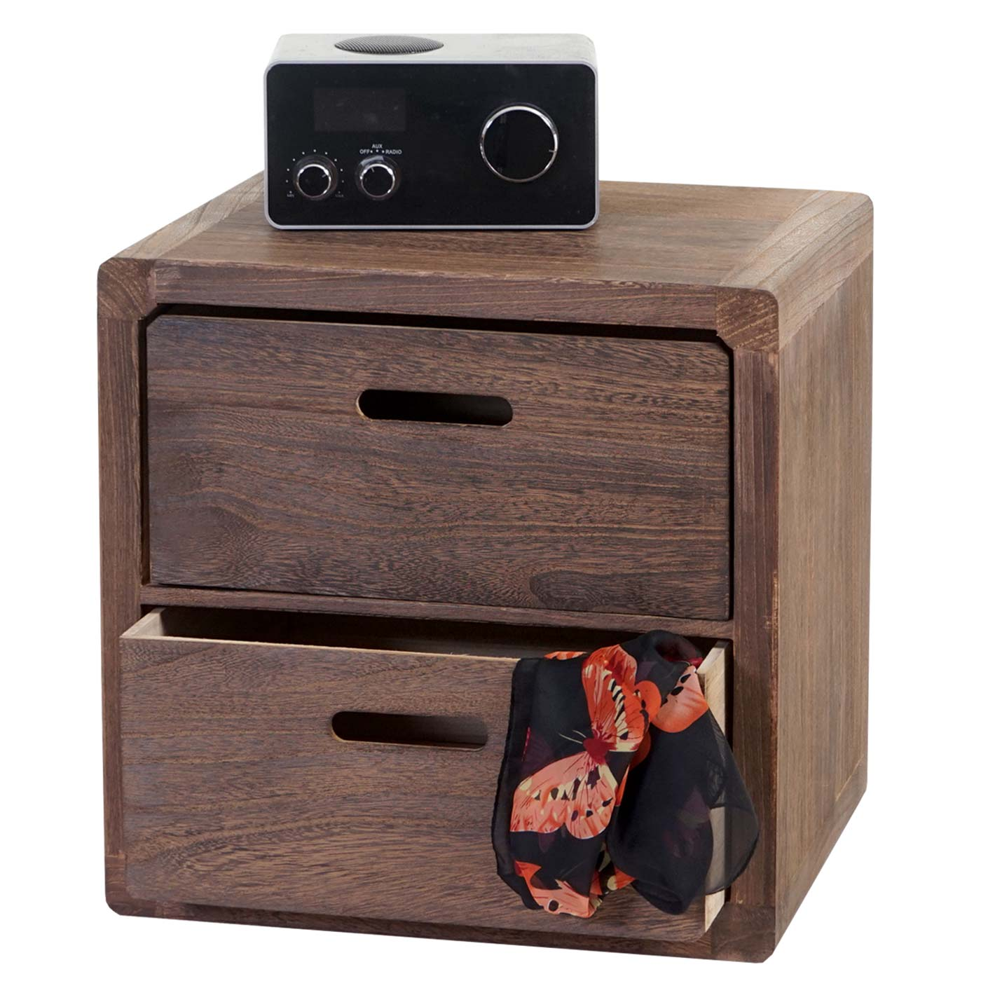 kommode trani nachtschrank nachttisch shabby look. Black Bedroom Furniture Sets. Home Design Ideas