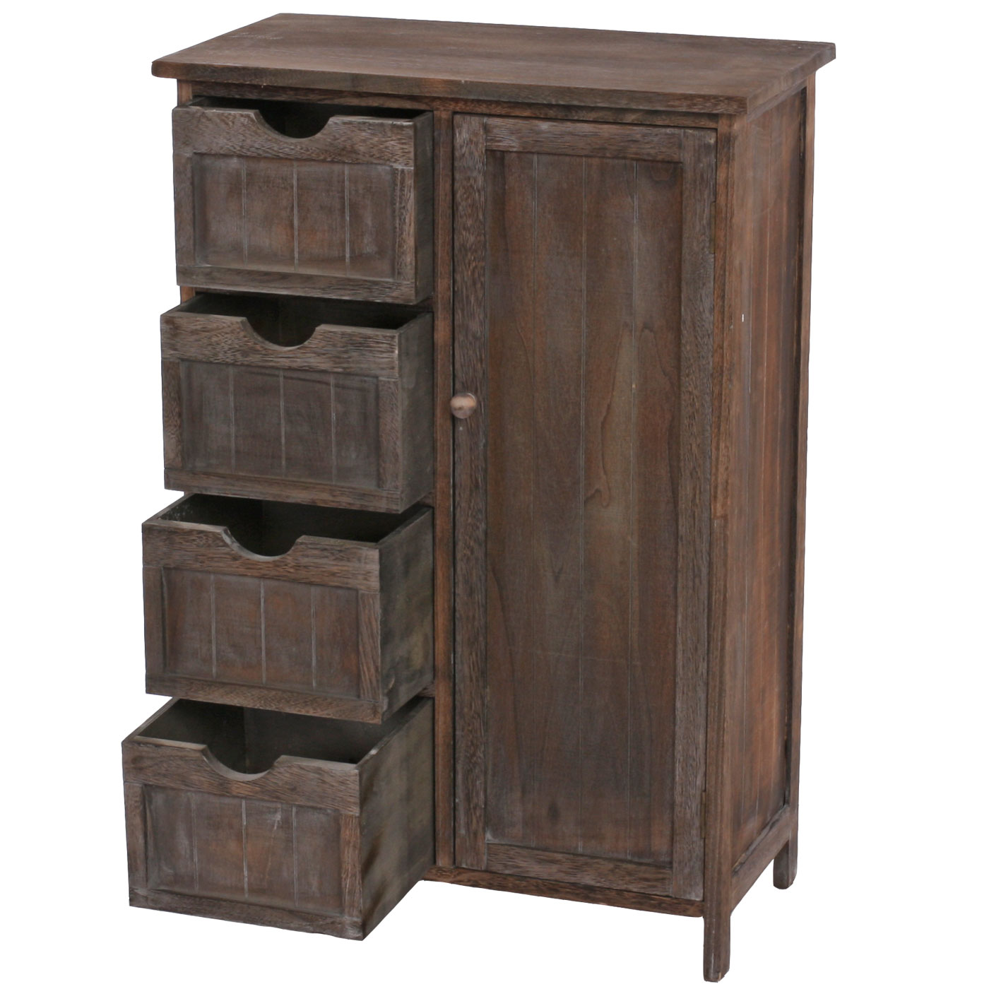 shabby chic kommode vintage braun. Black Bedroom Furniture Sets. Home Design Ideas