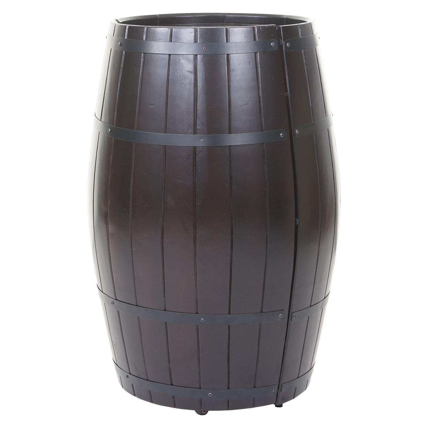 weinregal flaschenregal fass holzregal 85x52x52cm 23 flaschen. Black Bedroom Furniture Sets. Home Design Ideas