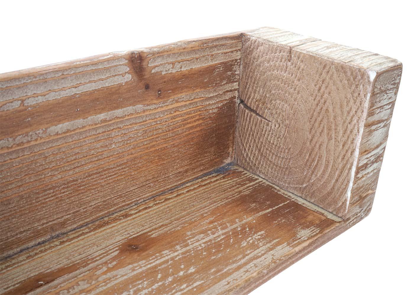 wandregal h ngeregal b cherregal tanne holz rustikal massiv 104cm. Black Bedroom Furniture Sets. Home Design Ideas
