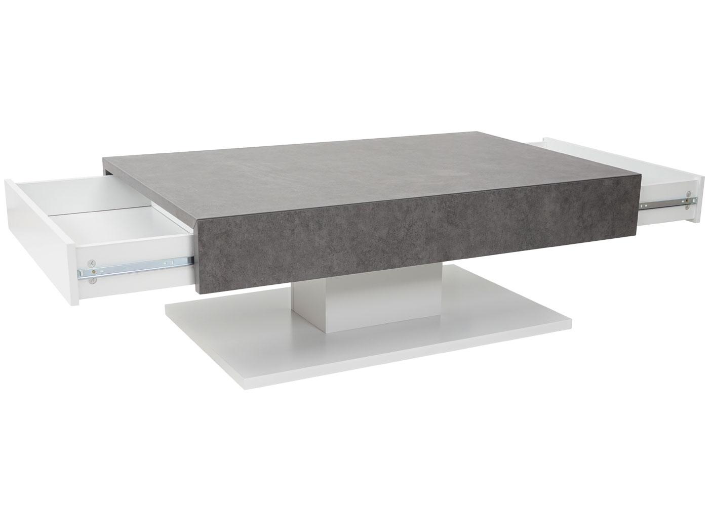 Couchtisch Sofatisch Beton Optik 40x110x70cm Jamb Ch
