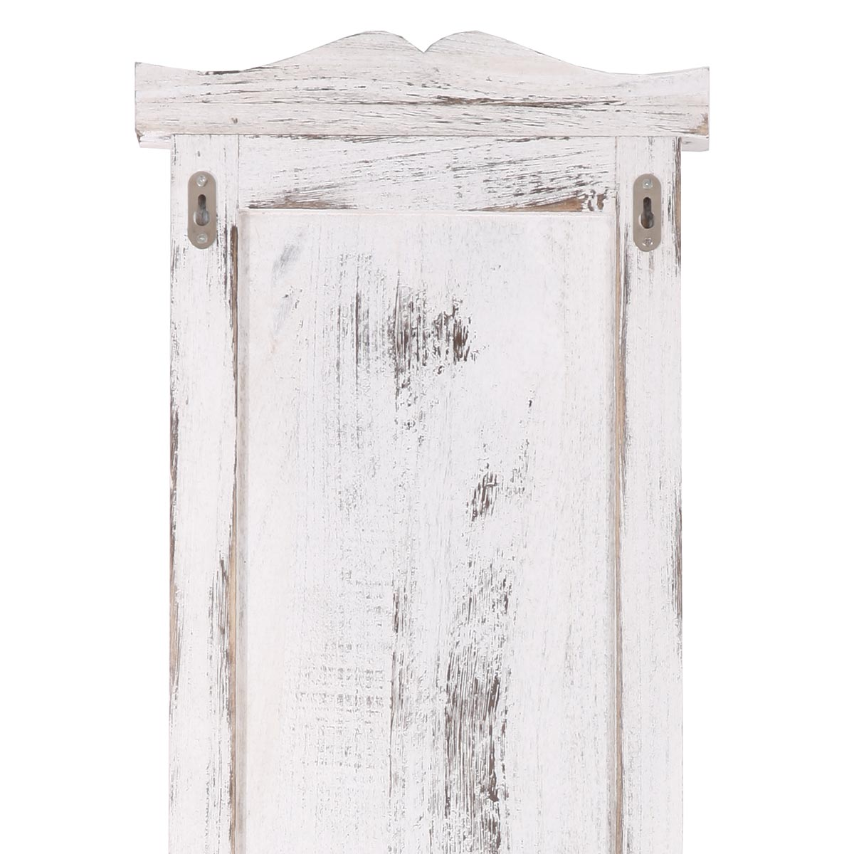 2x wandgarderobe shabby 109cm vintage weiss. Black Bedroom Furniture Sets. Home Design Ideas