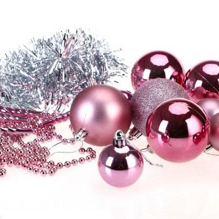 Christbaumkugeln Rosa.Weihnachtskugeln Christbaumkugeln 77 Stk Rosa Jamb Ch