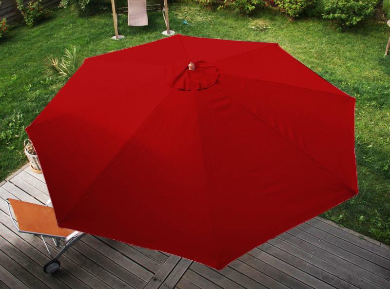 holz sonnenschirm florida 3 5m bordeaux. Black Bedroom Furniture Sets. Home Design Ideas