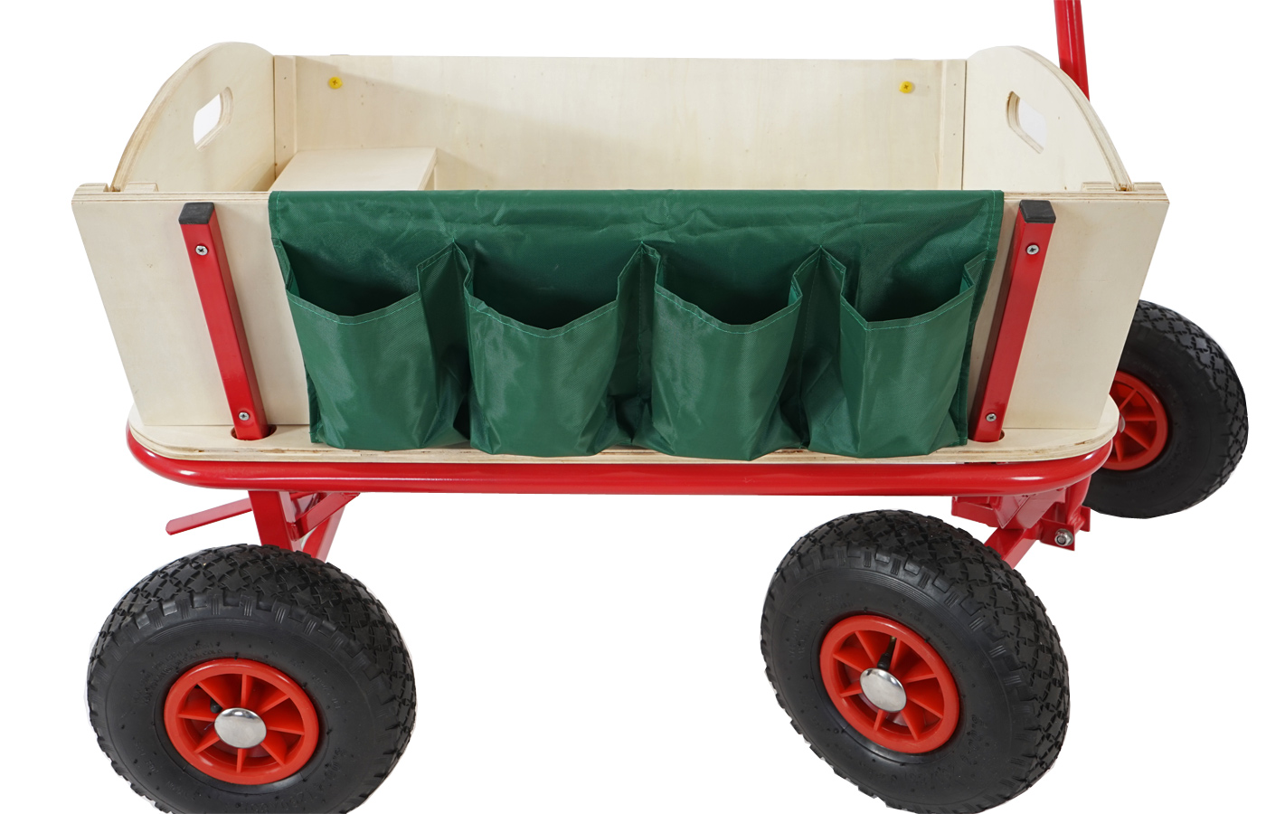 Bollerwagen Leiterwagen Oliveira Inkl Sitz Bremse Flaschenhalter