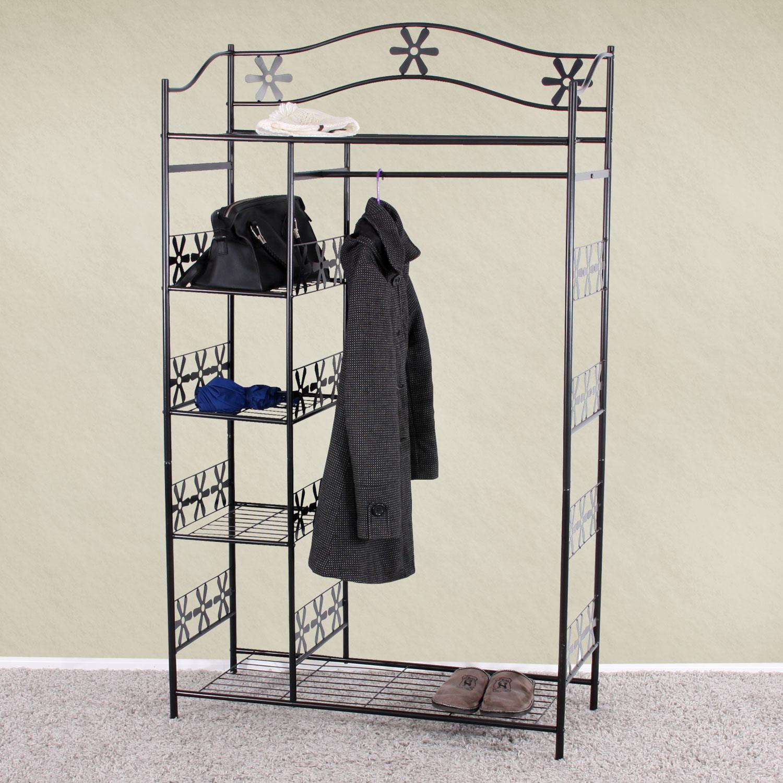 Kleiderständer Weiß Metall metall garderobe kleiderständer genf 172cm jamb ch