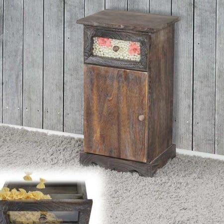 kommode asti shabby look vintage 63x34x29cm braun. Black Bedroom Furniture Sets. Home Design Ideas