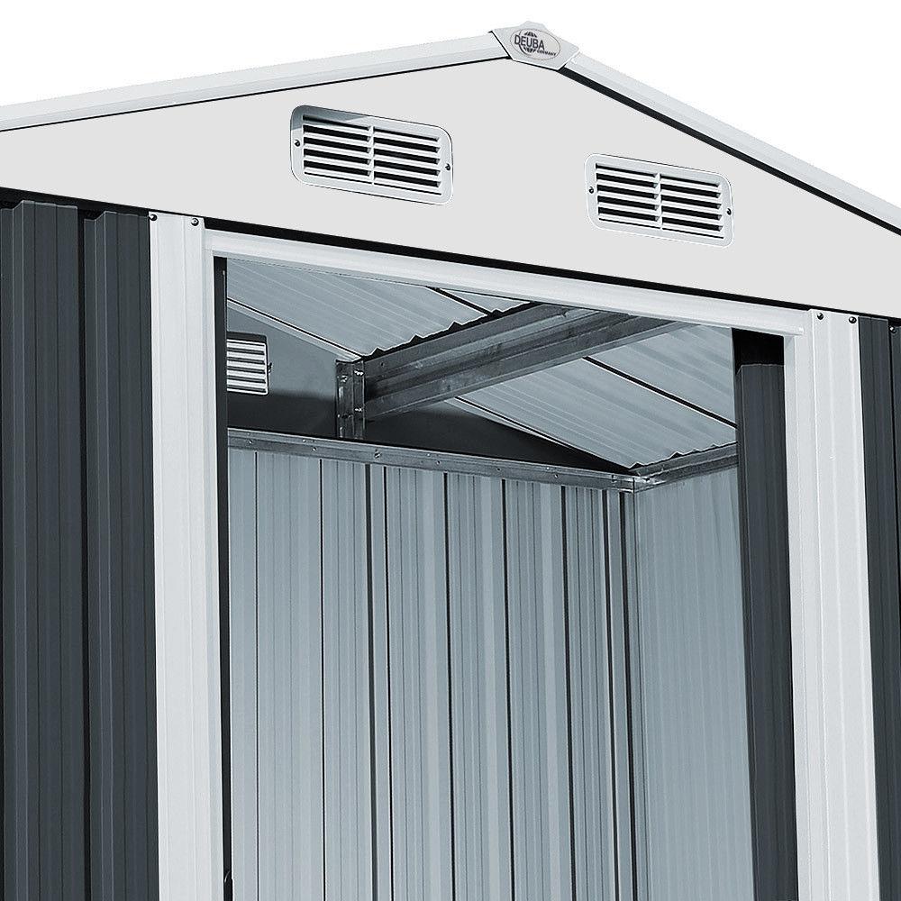 gartenhaus ger tehaus aus metall 14 65m. Black Bedroom Furniture Sets. Home Design Ideas