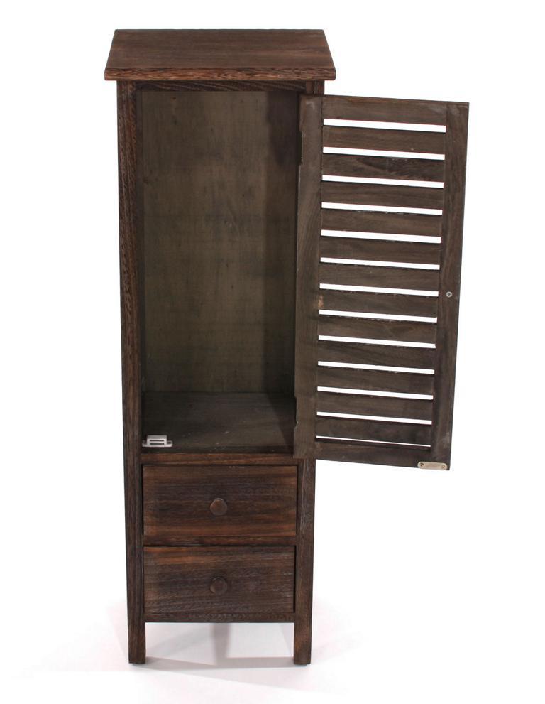 shabby kommode 90x30x25cm vintage braun. Black Bedroom Furniture Sets. Home Design Ideas