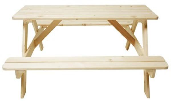 Gartenmobel Set Gebraucht :  Gartenmöbel » Tische » Kinder Picknicktisch aus Holz  Gartentisch