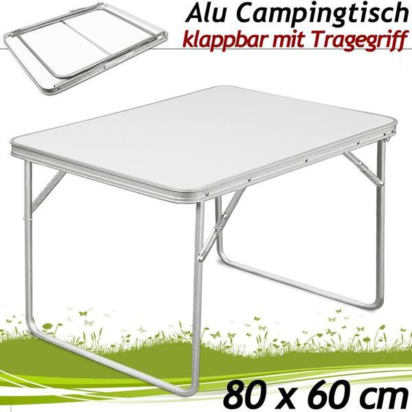 campingtisch klapptisch 80 x 60 x 68 cm. Black Bedroom Furniture Sets. Home Design Ideas